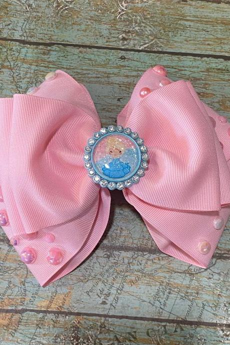Pink Princess Bows
